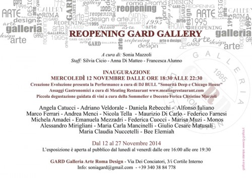 Reopening GARD Gallery